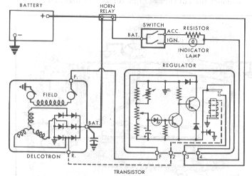 Selectric Typewriter Museum - Cars - 55 Chevy Voltage Regulator