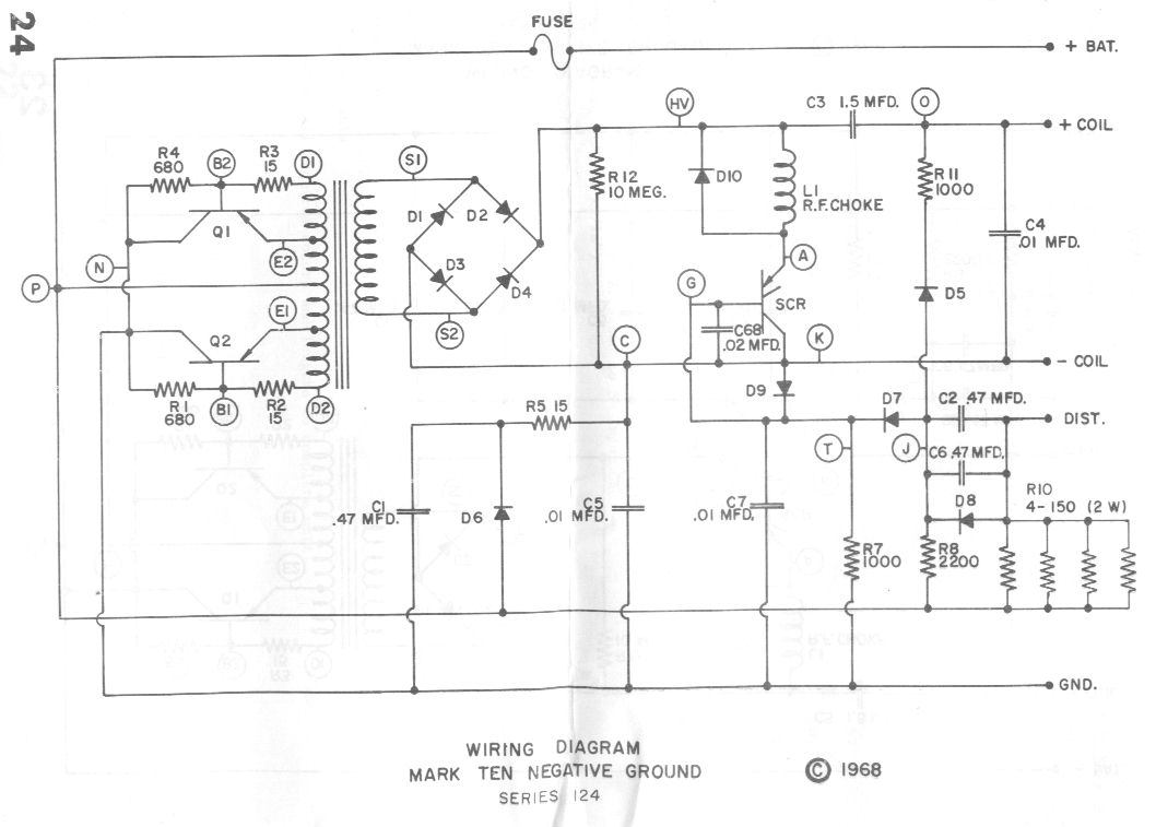 Msd 6al Schematic - Free Download Wiring Diagram