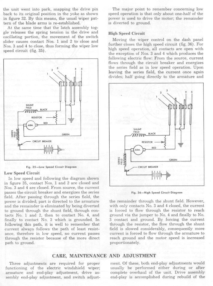 Wipermotor on 1955 235 Chevy Engine Specs
